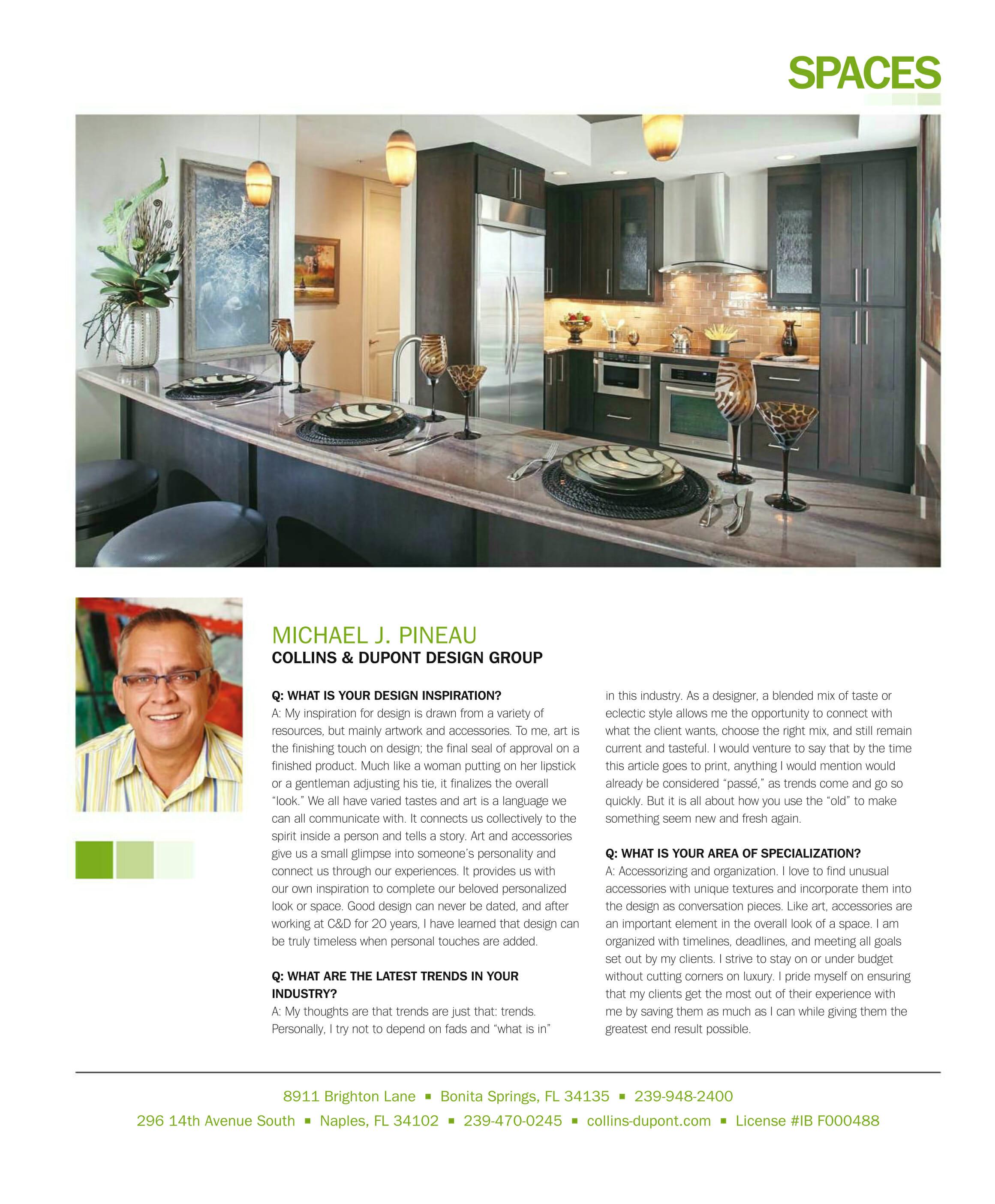 Collins & Dupont Design Group press | collins dupont design group